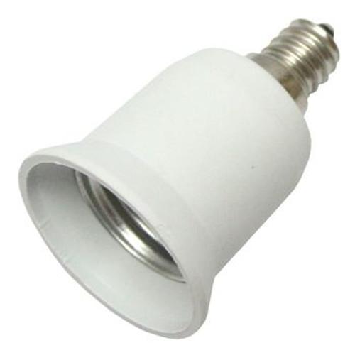 E12 to E26 Chandelier Light Socket Adapter