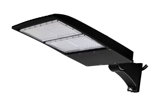 300W LED Street Light Fixture - Direct Mount - 42000 Lumens - 5 year Warranty - 5700K - UL  DLC - 1000W Equivalent Outdoor Parking Lot Pole Light