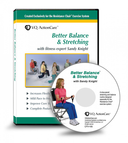 Better Balance and Stretching DVD