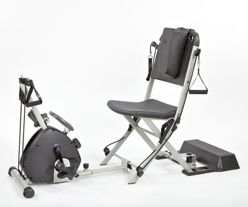 Resistance Chair - Smooth Rider II Exercise Bike Attached