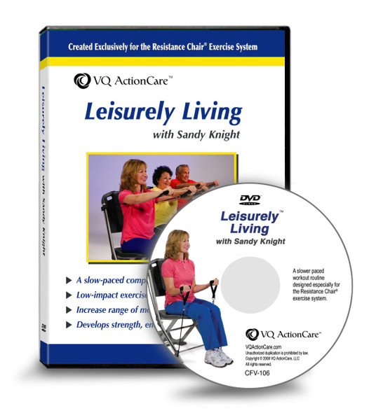 Resistance Chair - Leisurely Living DVD