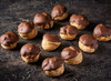 Milk Chocolate Profiteroles