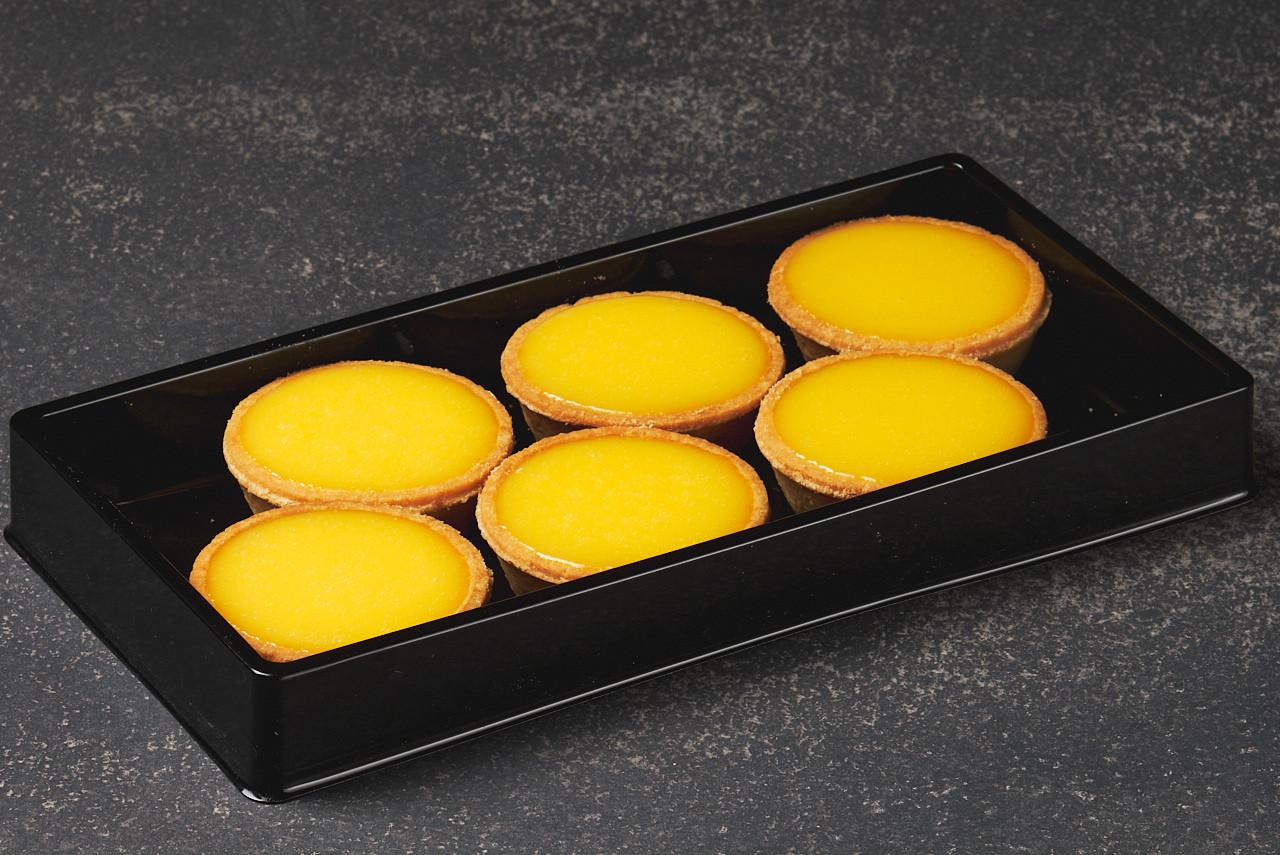 6cm lemon tarts