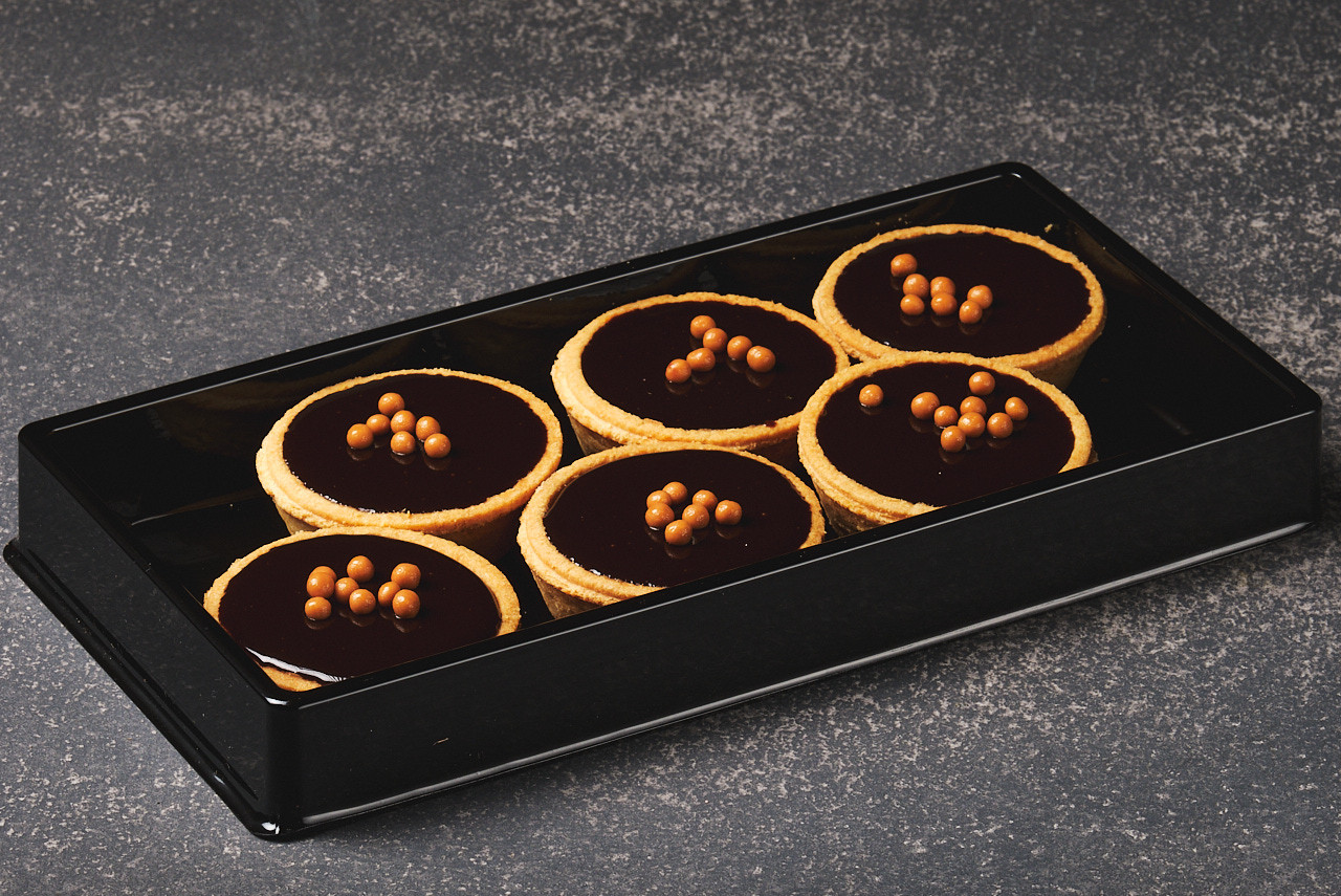 Mini Salted Caramel Tarts