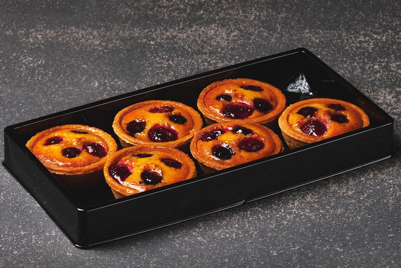 Mini Berry Almond Tarts