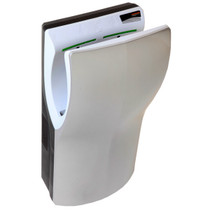 Saniflow DualFlow Plus M14ACS High Speed Hand Dryer Satin Silver