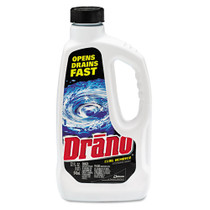 Drano Liquid Clog Remover, 32 oz., Case of 12