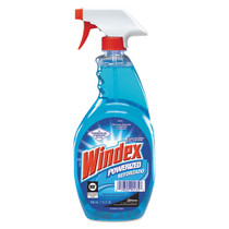 Windex Powerized Glass Cleaner with Ammonia-D, 32 oz, Case of 12