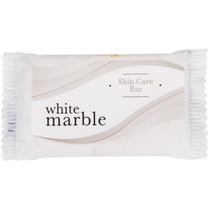 White Marble Tone Skin Care Bar Soap .75 Oz. Case of 1000