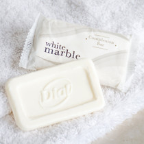 White Marble Dial Basics Complexion Bar Soap .1.5 Oz, Case of 500