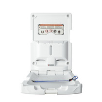 Foundations 100-EV-BP Vertical Changing Station with Backer Plate, Grey