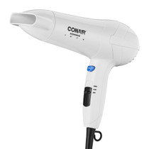 Conair 425WWH 1875 Watt Ionic Hair Dryer with Concentrator, White