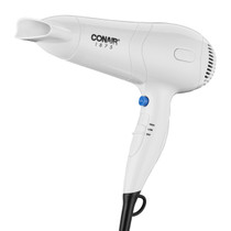 Conair 229WWH 1875 Watt Hair Dryer with Ionic Conditioning  and Concentrator, White