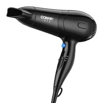 Conair 229BKWH 1875 Watt Hair Dryer with Ionic Conditioning  and Concentrator, Black
