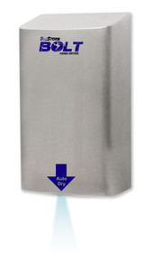 BluStorm Bolt High Speed Hand Dryer Stainless Steel