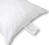 """Comforel Luxury Hotel Pillow with 2"""" Gusset, Standard, 22 oz. Fill, 12 per case, Price Per Each"""
