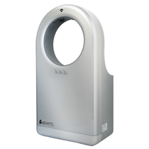 iStorm2 High Speed Hand Dryer, Platinum