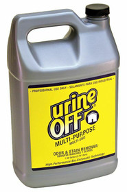 Urine Off Multi-Purpose Urine Cleaner, Odor and Stain Remover, 1 Gallon, Cat Urine Remover, Dog Urine Remover