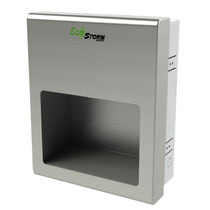 EcoStorm® Recessed High Speed Hand Dryer, Brushed Stainless, 110/120V