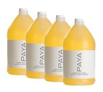 PAYA Liquid Hand Soap Gallon, Case of 4