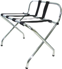 Metal High Back Luggage Rack, Price Per Each, 6 Per Case