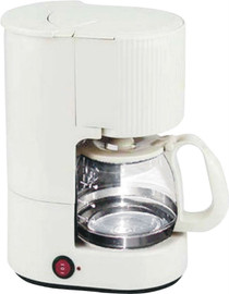 Lodging Star 4-cup Coffee Maker Ash with Glass Carafe