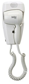 Jerdon JWM8CD 1600W Wall Mount Hair Dryer with LED Night Light - Direct Wire