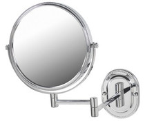 Jerdon JP7507CB Wall Mount Mirror 7X Magnification, Chrome Finish