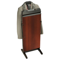 Corby 3300W Pants Press with Valet, Walnut Finish