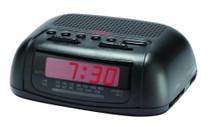 Sunbeam 89014 AM/FM Alarm Clock Radio with Red LED