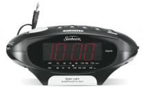 Sunbeam 89020 MP3 Ready AM/FM Alarm Clock Radio with Night Light
