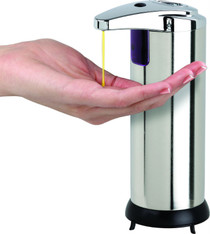 Better Living 70190 Touchless Stainless Steel Dispenser, Small 7.6 oz