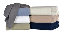 Berkshire Microloft Fleece Blanket, 66x90 Twin