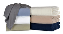 Berkshire Microloft Fleece Blanket, 90x90 Full/Queen