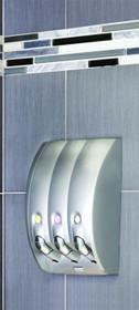 Better Living 81334 Curve Shower Dispenser 3, Silver Gloss