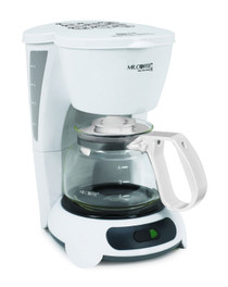 Mr. Coffee TF4-099 Commercial 4 Cup Coffee Maker with Auto-Off, White