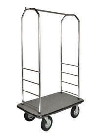 Easy-Mover 2000BK-010 Chrome Series Bellman Cart