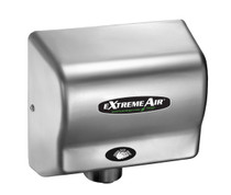 Adjustable Sound and Speed, Universal Voltage, Antimicrobial Infused Air Delivery System, 12-second Adjustable Dry Time, 540-300 Watts Adjustable Power, No Dedicated Electrical Line Required