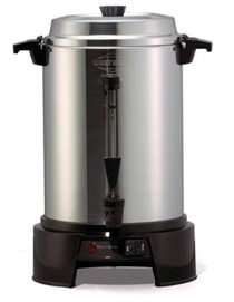 West Bend Aluminum 55-Cup Commercial Coffee Urn
