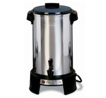 West Bend Aluminum 36-Cup Commercial Coffee Urn