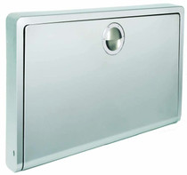 Koala Kare KB110-SSWM Horizontal Wall Mounted Baby Changing Station, Stainless Steel Finish