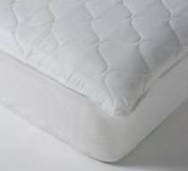 """Ultimate Comfort Choice Deluxe Quilted Mattress Pad, Cal King 78x80, 12""""- 18"""" Expandable Skirt, 8 Per Case, Price Per Each"""