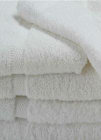 Oxford Imperiale Hand Towel 16x30, 4 lb., 100% Cotton, Dobby Border & Dobby Edge, White, 1 dozen