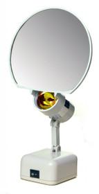 "Floxite FL-78 7"" Magnifying 8x Lamp Set Mirror"