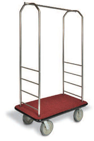 Easy-Mover Stainless Steel Series Bellman Cart