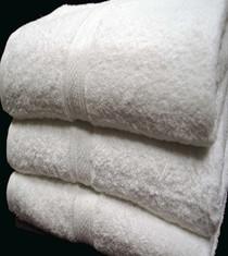Oxford Vicenza Bath Sheet 30x58, 20 lb., 100% Cotton, Dobby Border & Dobby Hemmed, White, 1 dozen