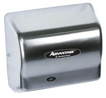 American Dryer AD90-C Advantage Hand Dryer, Satin Chrome