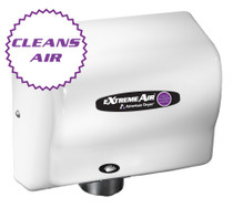 American Dryer ExtremeAir CPC9 Cold Plasma Clean Hand Dryer, Heated, White ABS