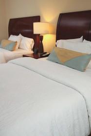 Oxford Super Blend T200 Pillow Case, King 42x46, 60/40 Blend, 1 Dozen, White