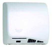 Saniflow M06A SPEEDFLOW High Speed Hand Dryer, White Porcelain Enamel